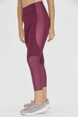 Malla de running Tenth brillo para mujer